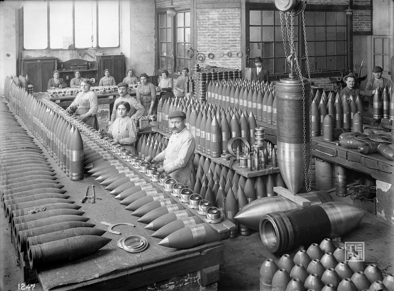 La Prima Guerra Mondiale Acciai Speciali Terni